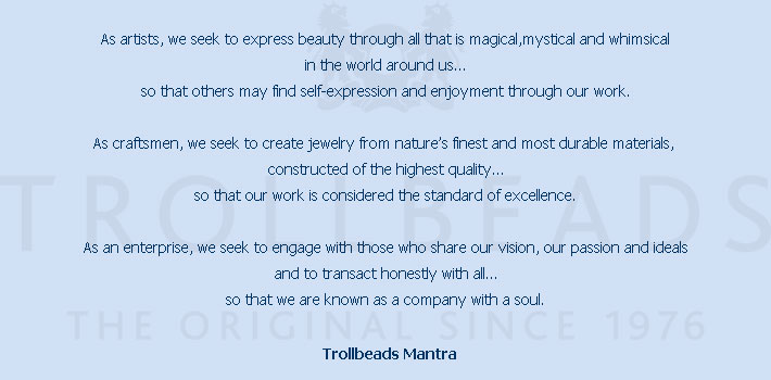Trollbeads Mantra